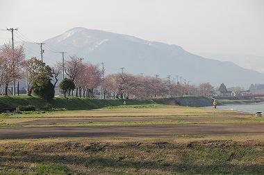 米代川河川敷