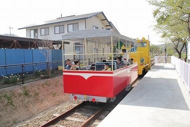 観光トロッコ 古館駅