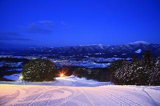 水晶山スキー場(ナイター)