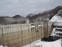 砂子沢ダムを探検!