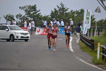 真夏のレース