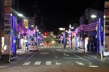 鹿角花輪駅前 クリスマスイルミネーション