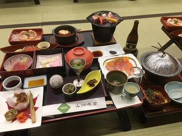 龍門亭 千葉旅館 (料理編)