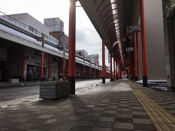 鹿角の景色(花輪大町商店街)