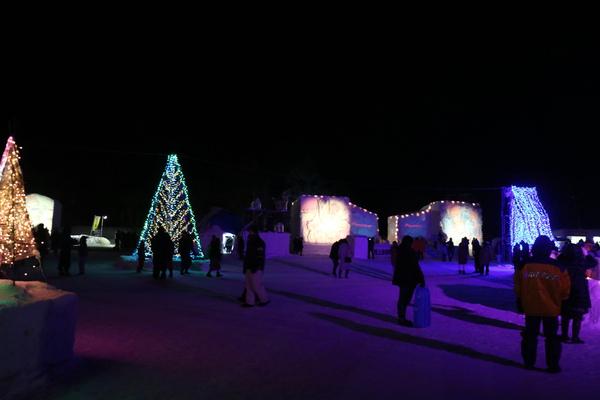 十和田湖冬物語に行ってきました☆.。.:*・