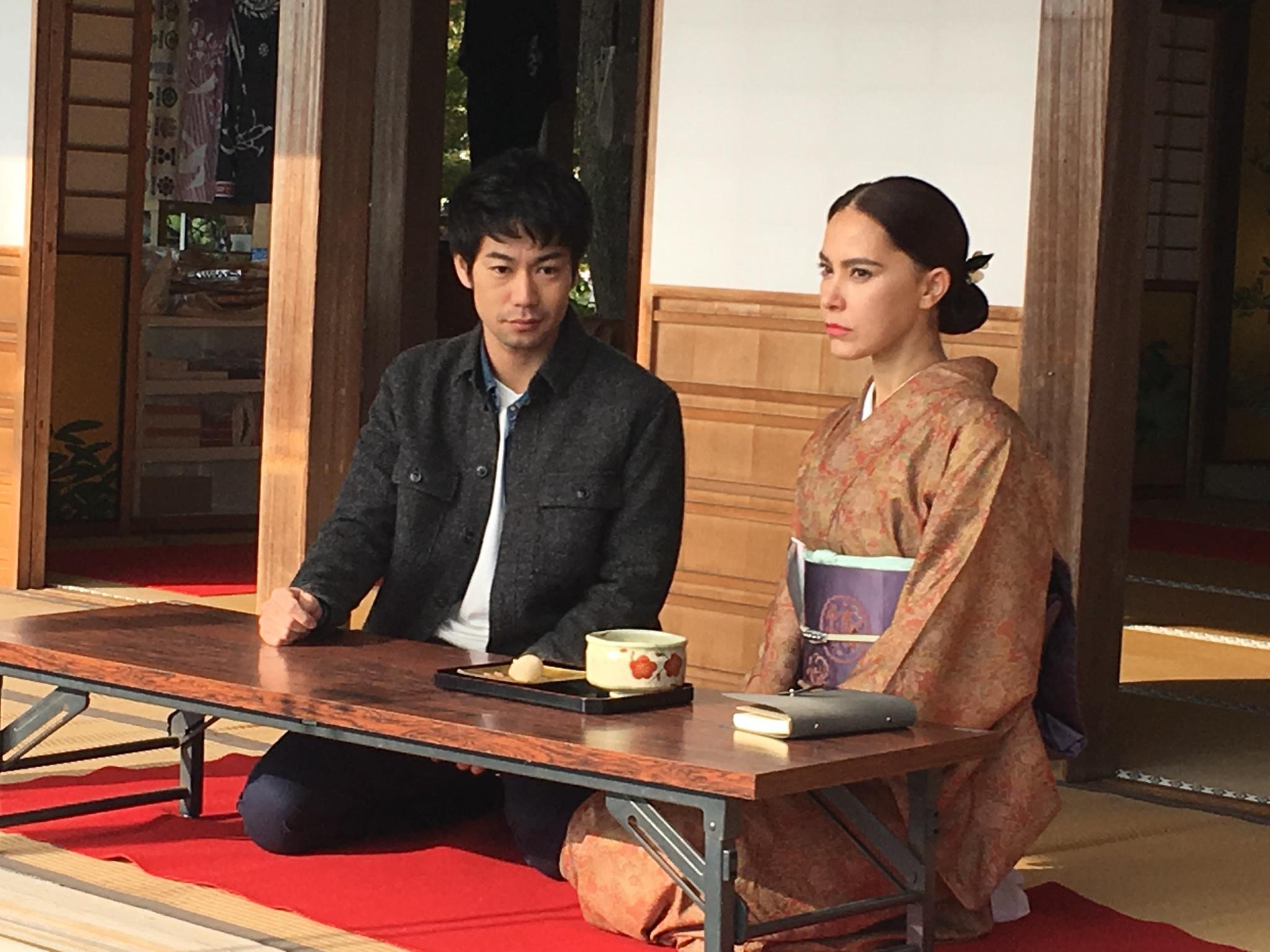 タイドラマの撮影に参加しました*\(^o^)/*