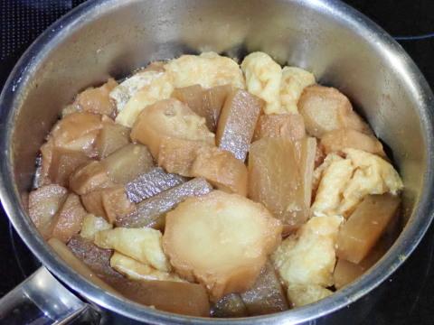 仙台麸と大根の普茶煮