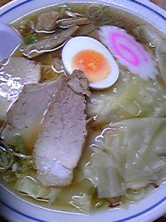 富士屋「ワンタン麺」