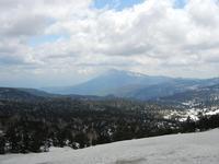 八幡平山頂から