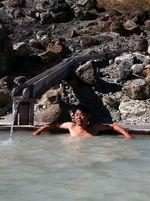 志張温泉とふけの湯温泉!