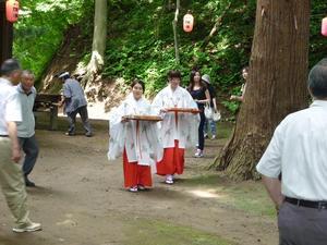 湯瀬の祭り その2