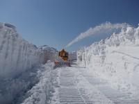 八幡平アスピーテライン除雪風景