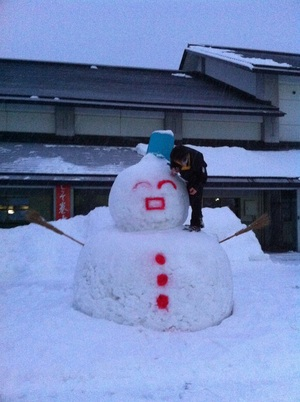 雪だるま!
