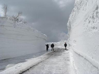 八幡平アスピーテライン(春山除雪)
