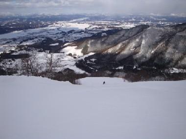 花輪スキー場に行ってきました