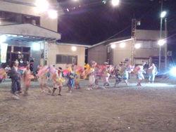 八幡平のお祭りです。