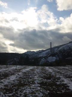 初冬の史跡尾去沢鉱山