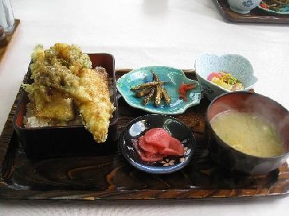 十和田湖の天丼