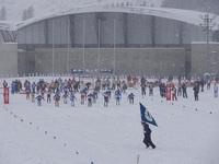 鹿角国体2013 19日 クロスカントリーリレー