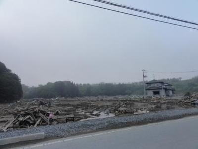 北上川河口付近