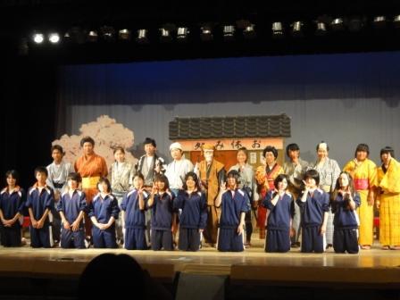 康楽館in牡鹿中学校