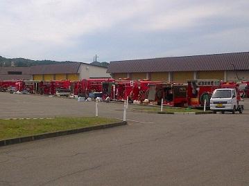 第64回消防協会鹿角支部消防訓練大会