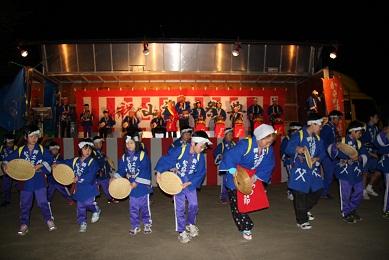 からめ節金山踊り-尾去沢神社祭典-