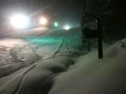 水晶山スキー場へ