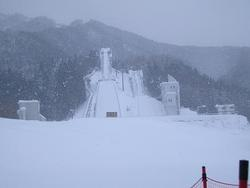 秋田県中学校スキー大会(ノルディック)始まります。