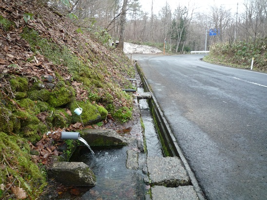 大湯大清水の清水