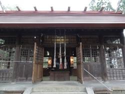 尾去沢山神社祭典