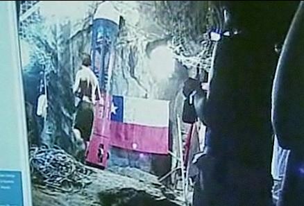 チリ北部鉱山 落盤事故 救出ライブ 2