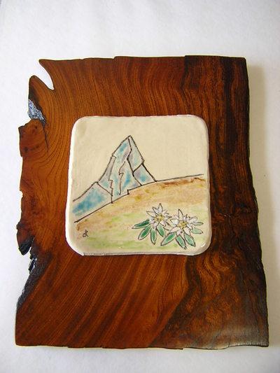 マッターホルンの陶板