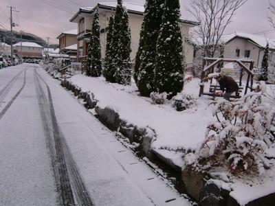 12/18 仙台も初雪…ウィンターシーズンの幕開け