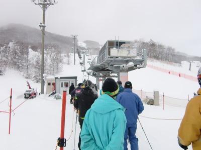 12/22 今年の初スキー