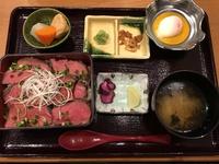 ローストビーフ丼!