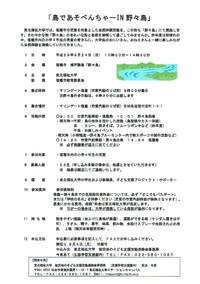 「島であそべんちゃ~in野々島」が開催されます!