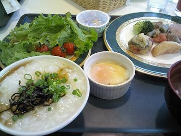 ホテルの朝食!!