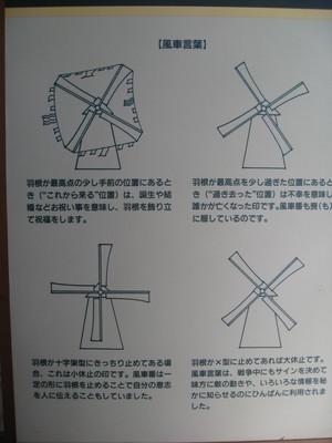 風車の意味・・・