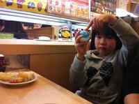 初くら寿司♪