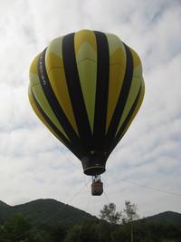 気球に乗りました!