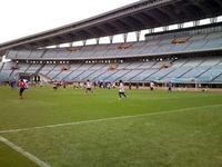 県民サッカーの日。