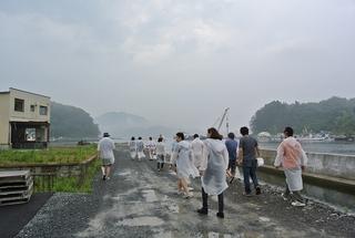 気仙沼の夏休み⑥(盛屋水産・船上牡蠣筏ツアー)