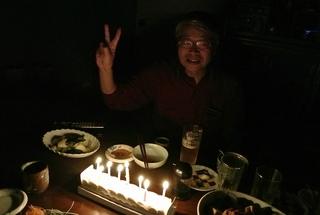 福島で誕生日祝い!