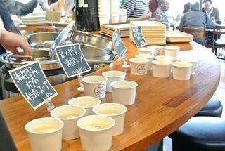 425祭 madehniプロデュース!スープで朝ごはん!