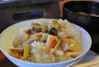 気仙沼の「大松」さんでホヤ釜飯!