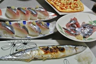秋刀魚づくしの晩ごはん!
