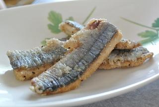 秋刀魚ごはん&サンマ竜田揚