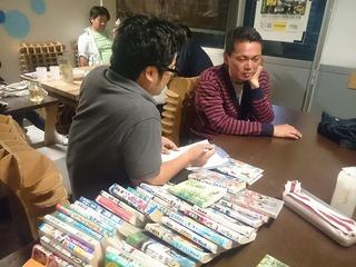 出張!サッカー漫画診断 in 女川・ガル屋