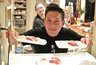 山崎さんの寿司ナイト in ガル屋